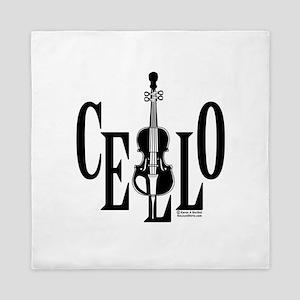 Cello In Cello Queen Duvet