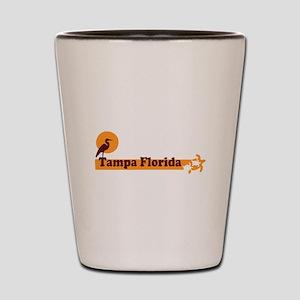 Tampa Florida - Beach Design. Shot Glass