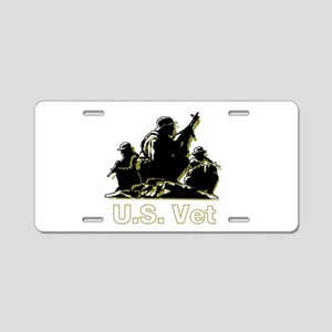 U.S. Veteran Aluminum License Plate