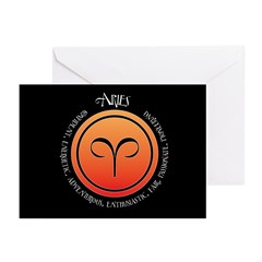 Aries Greeting Cards (Pk of 10)
