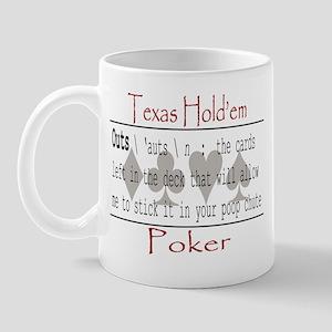 Hold'em Definitions: Outs Mug