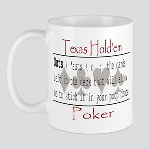 Hold'em Definitions: Outs Mug