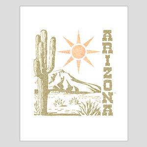 Vintage Arizona Cactus and Sun Posters