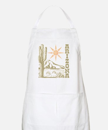 Vintage Arizona Cactus and Sun Apron