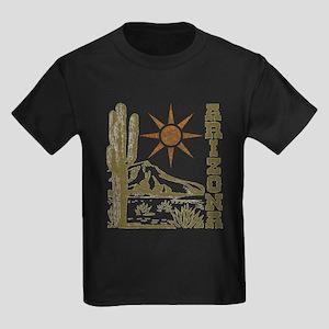 Vintage Arizona Cactus and Sun T-Shirt