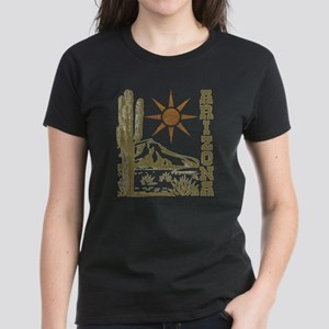 Vintage Arizona Cactus and Sun T-Shirt