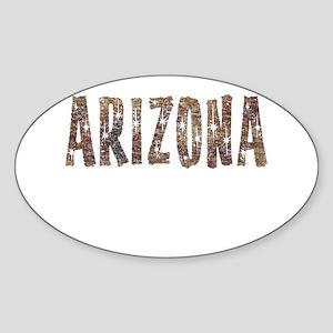 Arizona Coffee and Stars Sticker