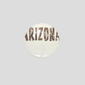Arizona Coffee and Stars Mini Button