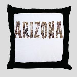 Arizona Coffee and Stars Throw Pillow