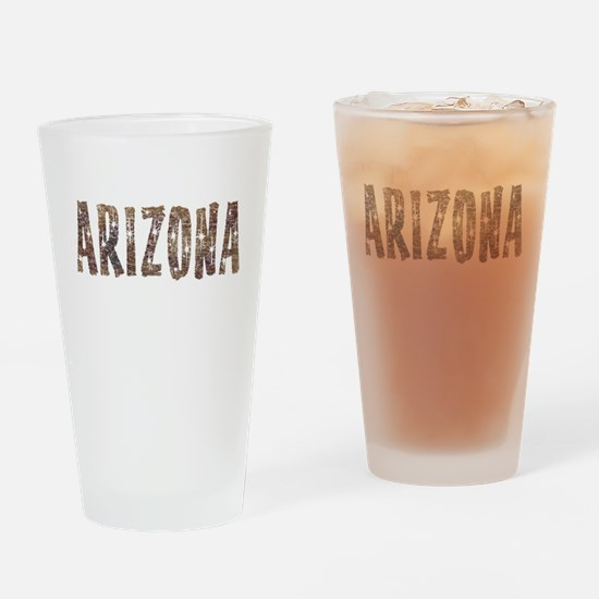 Arizona Coffee and Stars Drinking Glass