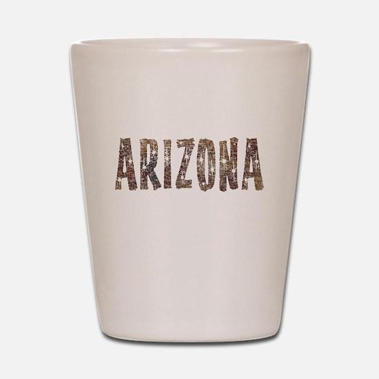 Arizona Coffee and Stars Shot Glass