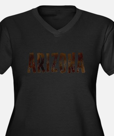 Arizona Coffee and Stars Plus Size T-Shirt