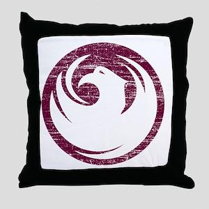 Vintage Phoenix Throw Pillow