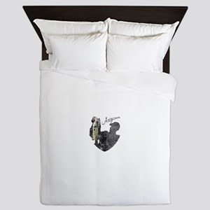 Arizona Fishing Queen Duvet