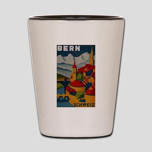 Vintage Bern Switzerland Travel Shot Glass