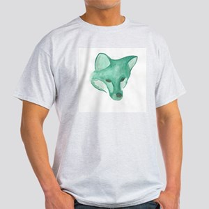 Foxy Head (teal) T-Shirt