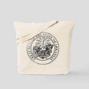 Arkansas State Seal Tote Bag