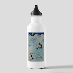 Vintage Arosa Switzerland Travel Water Bottle