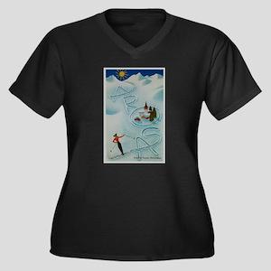 Vintage Arosa Switzerland Travel Plus Size T-Shirt