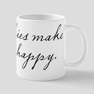 Cookies make me happy Mug