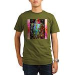Beaming Up Organic Men's T-Shirt (dark)