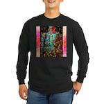 Beaming Up Long Sleeve Dark T-Shirt