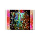 Beaming Up Rectangle Magnet (100 pack)