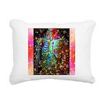Beaming Up Rectangular Canvas Pillow