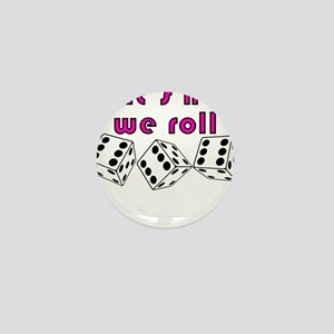 how we roll Mini Button
