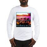 Waikiki Three Wise Surfers Long Sleeve T-Shirt