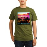 Waikiki Three Wise Surfers Organic Men's T-Shirt (