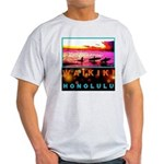 Waikiki Three Wise Surfers Light T-Shirt
