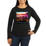 Waikiki Three Wise Surfers Women's Long Sleeve Dar