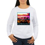 Waikiki Three Wise Surfers Women's Long Sleeve T-S