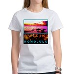 Waikiki Three Wise Surfers Women's T-Shirt