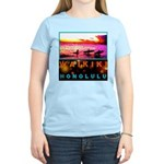 Waikiki Three Wise Surfers Women's Light T-Shirt