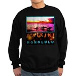 Waikiki Three Wise Surfers Sweatshirt (dark)
