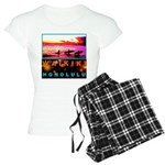 Waikiki Three Wise Surfers Women's Light Pajamas
