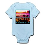 Waikiki Three Wise Surfers Infant Bodysuit