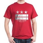 Logan Circle Washington DC Dark T-Shirt