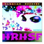 "HRH Duchess SisterFace Square Car Magnet 3"" x"