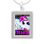 HRH Duchess SisterFace Silver Portrait Necklace