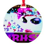 HRH Duchess SisterFace Round Ornament