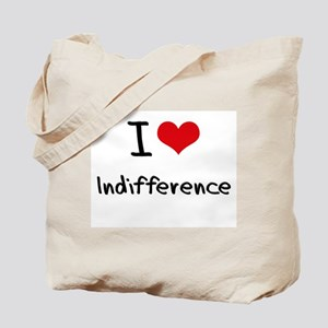 I Love Indifference Tote Bag