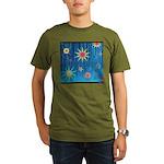 StarBurst Organic Men's T-Shirt (dark)