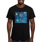 StarBurst Men's Fitted T-Shirt (dark)