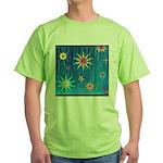 StarBurst Green T-Shirt