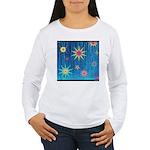StarBurst Women's Long Sleeve T-Shirt