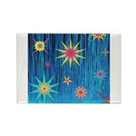 StarBurst Rectangle Magnet (10 pack)