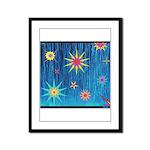 StarBurst Framed Panel Print